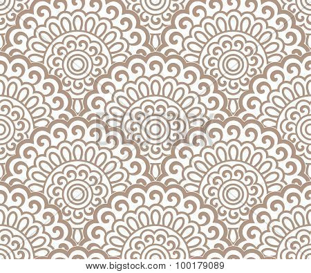 Seamless Oriental Pattern Continuous