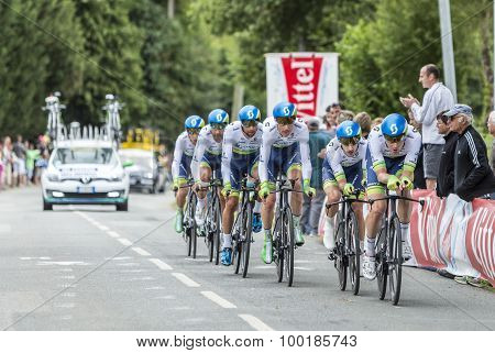 Team Orica-greenedge - Team Time Trial 2015