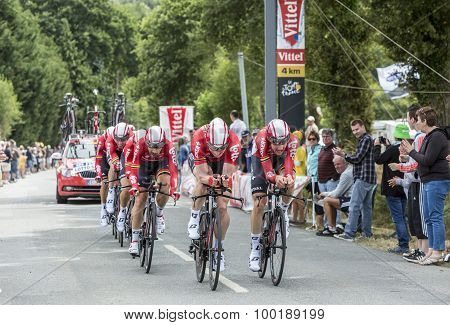 Team Lotto-soudal - Team Time Trial 2015