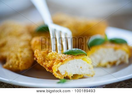 Chicken Fried In Batter
