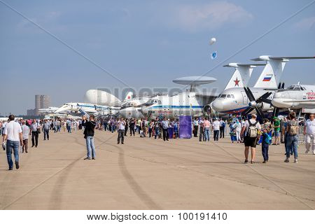 International Aerospace Salon Maks-2015