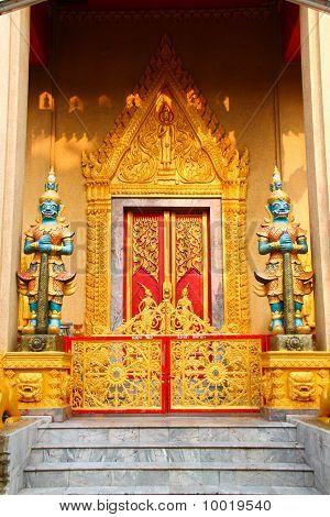 Wat Phra Chao Yai Ong Tue, Northeast Thailand