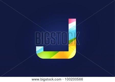 J letter vector logo icon symbol