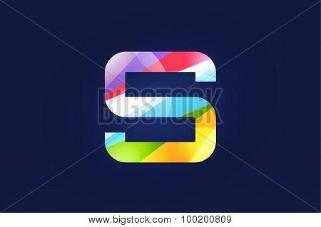 S letter vector logo icon symbol