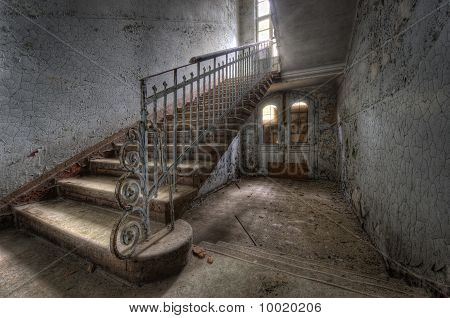 Hospital Stairs