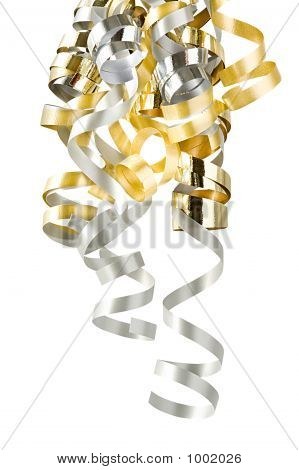 Christmas Curly Ribbons