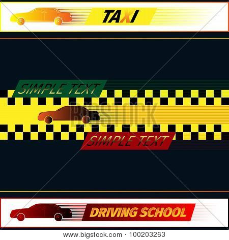 Driving school and taxi