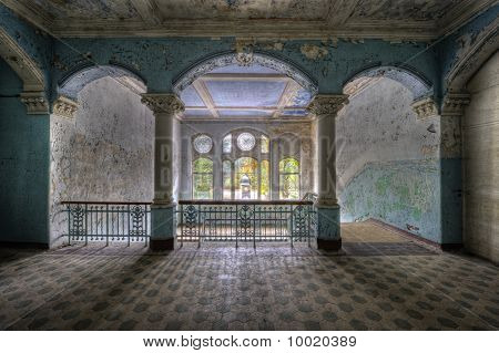 entrance floor in Beelitz