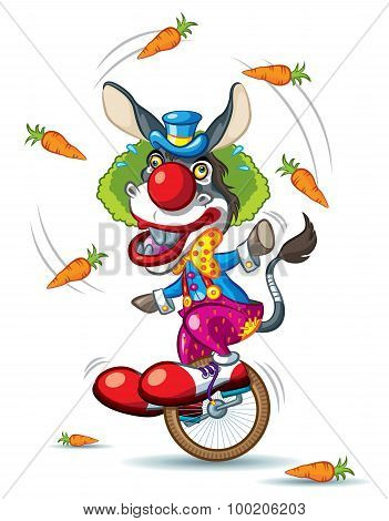 Donkey Clown