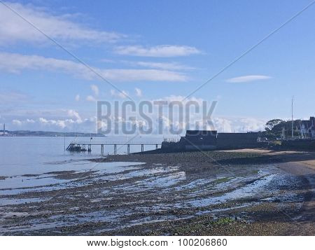 A pier in Cultra Holywood County Down