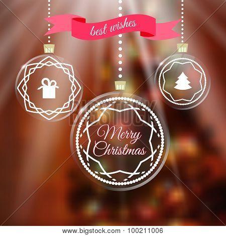 Merry Chrismas greeting