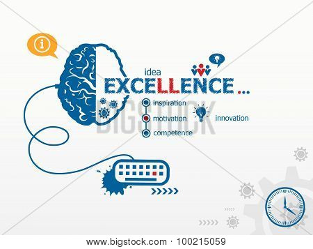 Excellence Design Illustration Concepts For Business