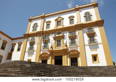 Traditional Azores Facade. Palace General Captain. Angra. Terceira. Portugal