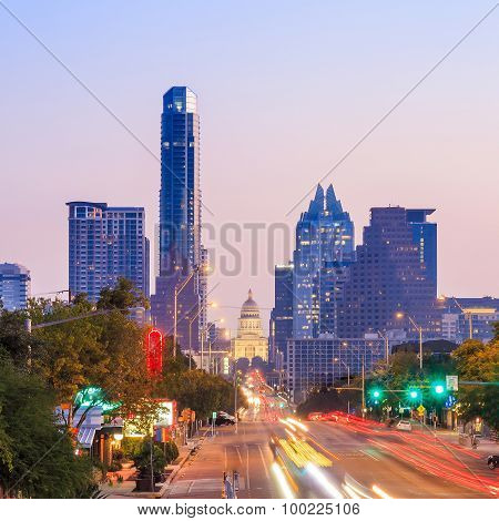 A View Of The Skyline Austin