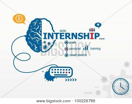 Internship Design Illustration Concepts For Business