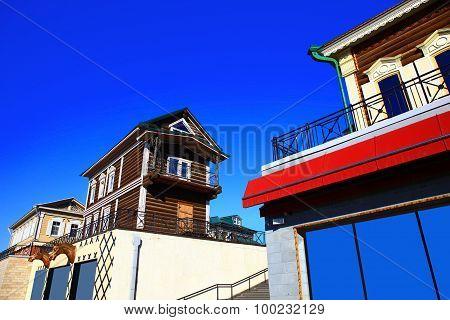 Irkutsk Sloboda (130 Quarter), Russia.