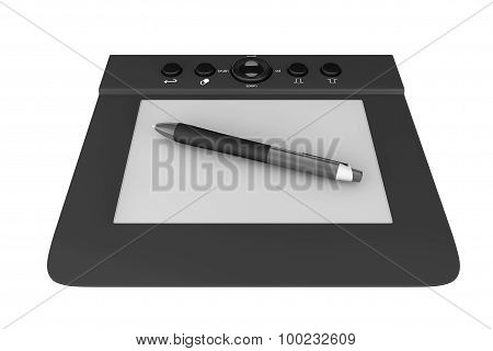 Digital Graphic Tablet With Pen