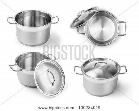 Set Of  Professional Metal Pot