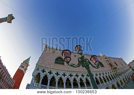 Fish eye View Of San Marco Square In Venice, Italy 1