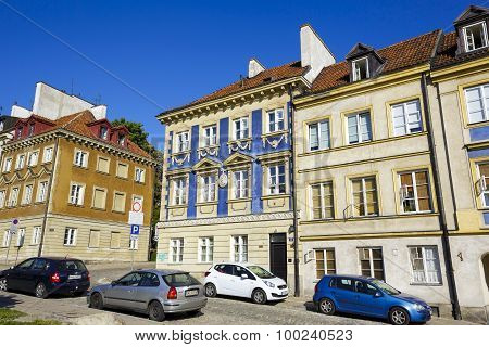 Townhouses At The Mostowa Street, Warsaw