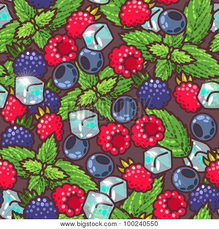 Seamless Berries