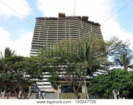 The Ritz-calton Residences - Waikiki Beach Under Construction