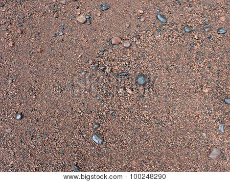 Red Maui Beach Sand