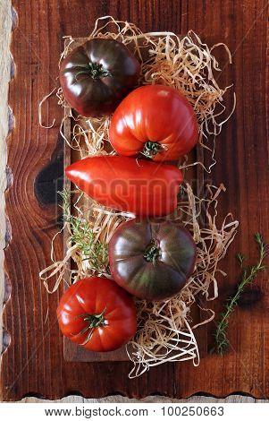 Bullish Heart Tomatoes