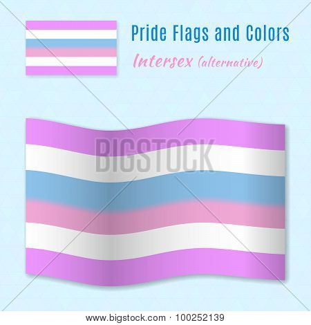 Intersex Pride Flag With Correct Color Scheme