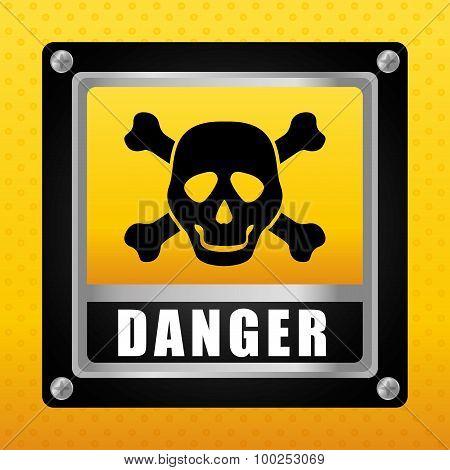 Danger design.