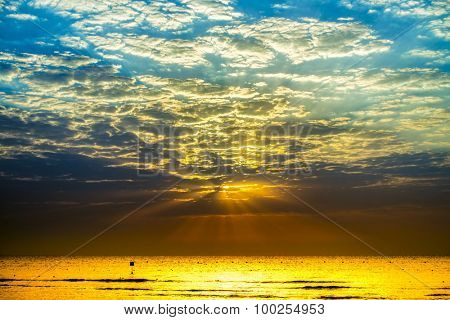 Sunrise in Hurghada/Makadi Bay, Egypt