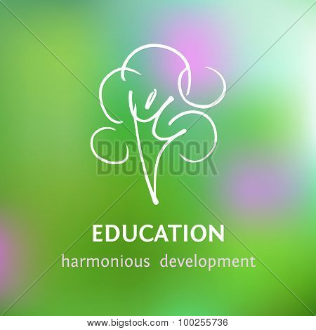 Logo of personal development and harmony.