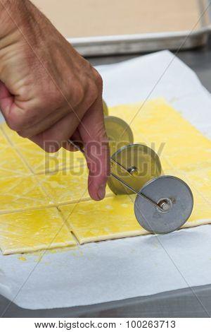 Preparing Puff Pastry