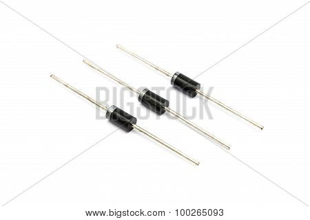 Pile Of Power Diodes, Schotky Diode [do-201Ad Package]