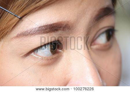 Human Eye Used Fashion Contact Lens