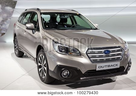 2015 Subaru Outback EU-Version