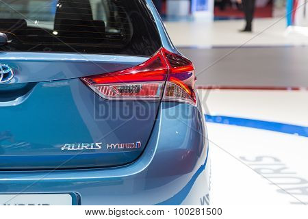 2015 Toyota Auris Hybrid
