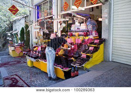 Confectionery shop in Tehran