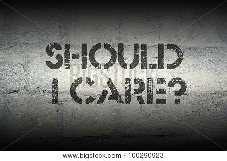 Should I Care