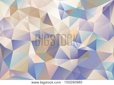 Cubism Background Cool Navy Blue And Beige