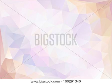Cubism Background Cool Pink And Pale Purple And White
