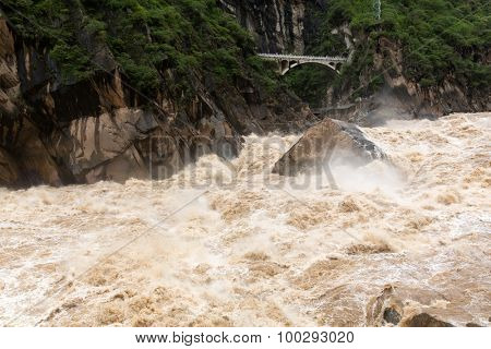Tiger Leaping Gorge in Lijiang, Yunnan Province, China.
