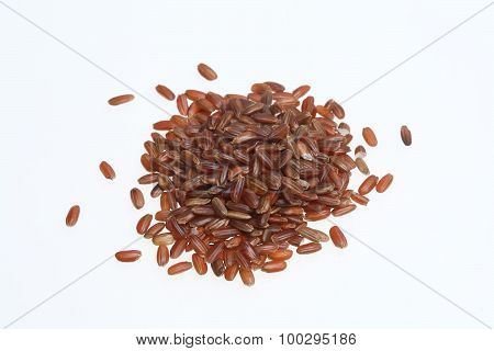 Red rice a variety called Camargue rice from France