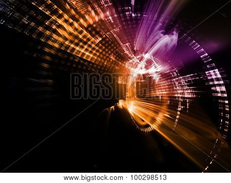 Abstract background. Detailed computer graphics