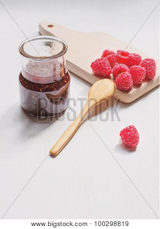 Jam Jar From Raspberry
