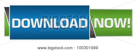 Download Now Green Blue Horizontal