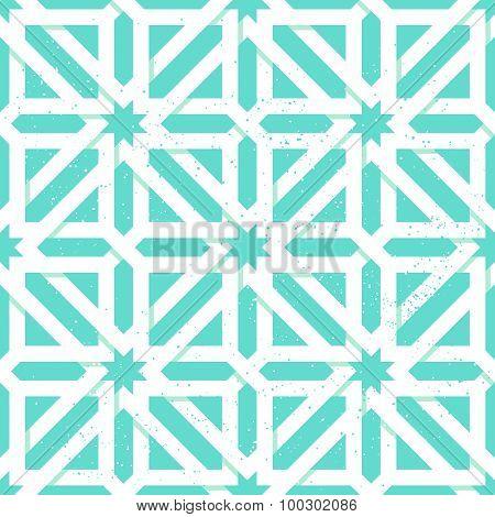 Arabic geometric seamless pattern