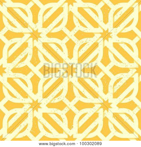 Arabic geometric seamless pattern