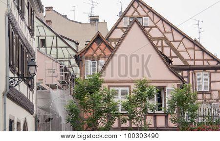 Architectural Detail In Colmar