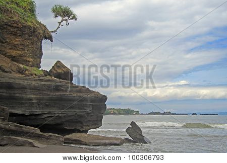 coastal landscape on the island Bali